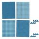 Blue, Blue, Blue - 12 Digital Papers
