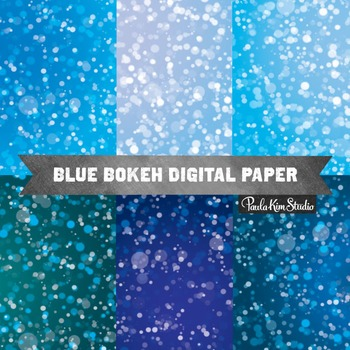 Digital Paper - Blue
