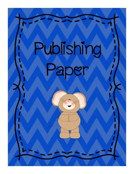 Blue Border Publishing Paper