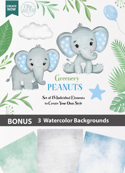 Blue Boy Baby Elephants collection, png clipart, baby elephant peanuts