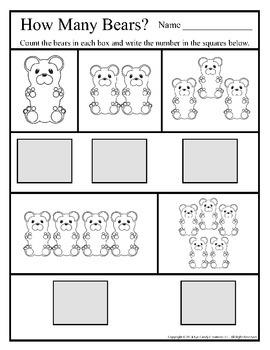 8.5x11 How Many Bears