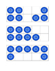 Blue Cat Button Ten Frames & Work Mat