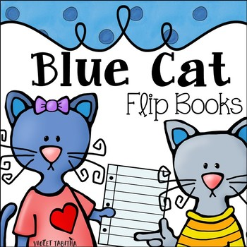 Blue Cat Flip Books