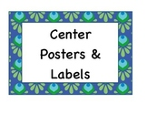 Blue Center Poster Pack
