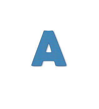 Blue Check Font
