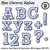 Blue Chevron Alpha Clip Art - 89 images