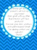 Blue Chevron with Yellow&Blue Owls Pennants ABC'S 123 AllSymbols & BLANKS-BUNDLE