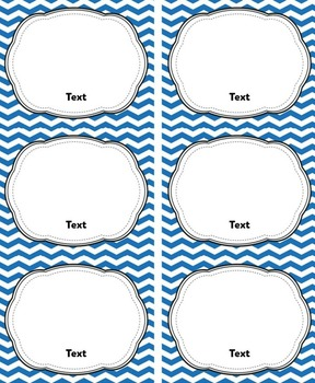 Blue Classroom Library Labels & Book Labels {Editable}