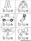 Blue Color Book