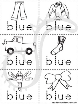 Blue Color Book