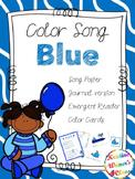 Blue Color Song {A Mini-Unit}