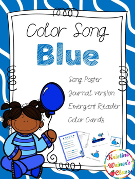 Blue Color Song {A Mini-Unit}