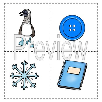 Blue Color of the Week Lapbook