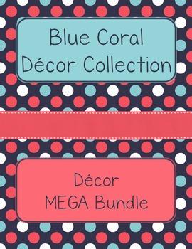 Blue Coral Decor: Decor MEGA Bundle