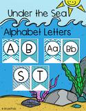 Blue Decorative letters