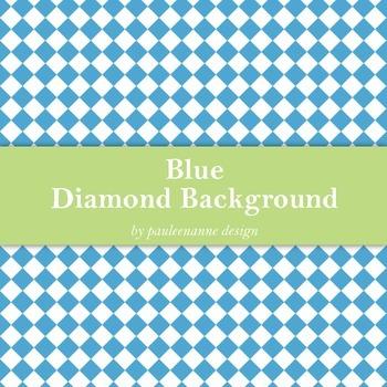 Blue Diamond Background