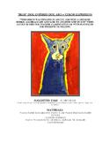 """Blue"" Dog Expressionist Portraits!"