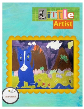 Blue Dog Travels:  Combining Rodrigue and Gauguin
