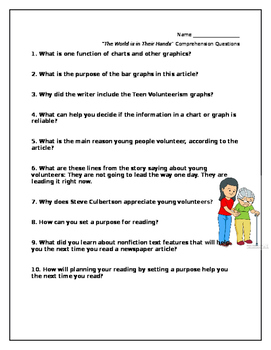 Blue Edge Unit 1, Cluster 1 The World is in Their Hands test questions