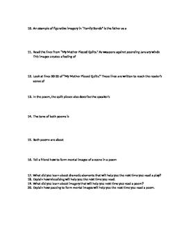 Blue Edge Unit 7, Cluster 1 test study guide
