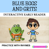 Green Eggs and Ham - Inspired Original Story:  Blue Eggs and Grits
