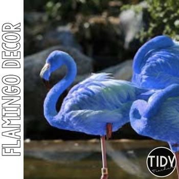Blue Flamingo Schedule Cards!