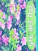 Blue Floral Teacher Planner