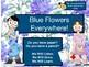 Blue Flowers Everywhere