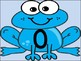 Blue Frog Full Page Number Posters 0-100