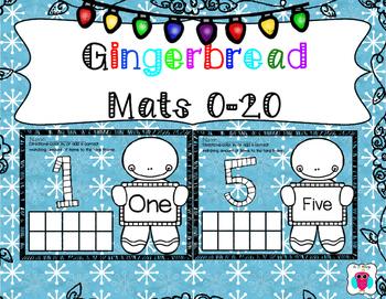 Blue Gingerbread Mats 0-20