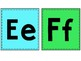 Blue & Green Classroom Alphabet (Lowercase and Uppercase)