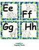 Blue & Green Word Wall Letters