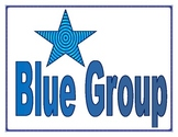 Blue Group Sign