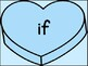 Blue Heart Dolch 3rd Grade High Frequency Sight Word Posters and Flashcards