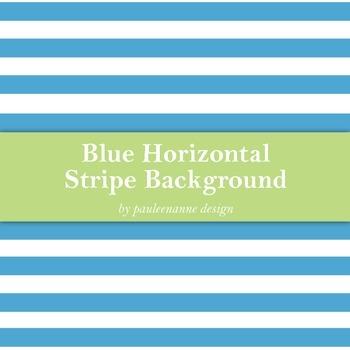 Blue Horizontal Stripe Background