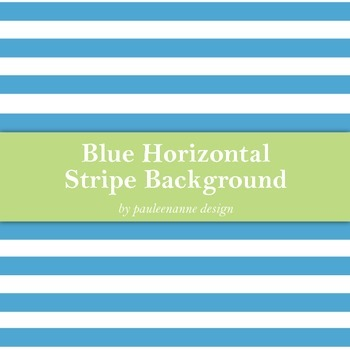 Blue Horizontal Stripe Background