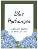 Blue Hydrangea Theme Classroom Decor Kit