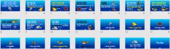 Blue King Fish, Blue King Fish, What Do You See PowerPoint Show + Digital Books