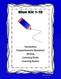 LLI Blue Kit 1-10 Comprehension Vocabulary Writing Learning Goals