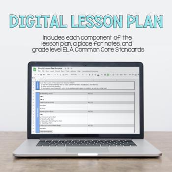 Blue LLI Lesson Plan Template