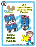 Blue Pencil - Back to School - Alphabet / Letter Puzzles -