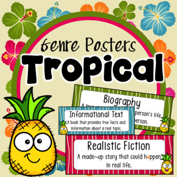 Genre Posters ~ Yellow Chevron
