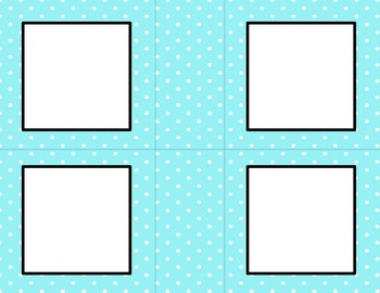 Blue Polka Dots Classroom Labels and Tags