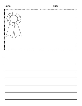 Blue Ribbon Paper- Lucy Calkins Opinion Writing