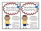 Blue Ribbon Pizza Party Invitation!