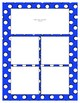 Blue Sorting Mat Frames * Create Your Own Dream Classroom / Daycare *