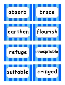 Reading Street Amazing Words Unit 2-Grade 3 (Blue Striped)