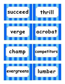 Reading Street Amazing Words Unit 4-Grade 3 (Blue Striped)