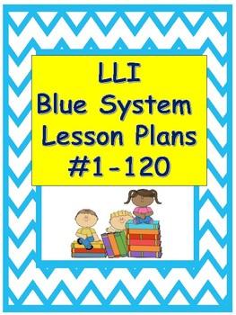 LLI Lesson Plans Blue System #1-120