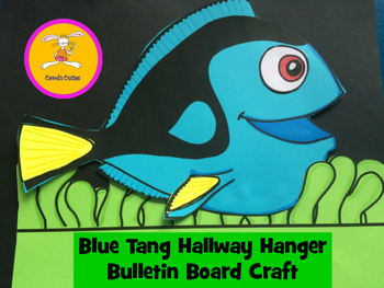Blue Tang Hallway Hanger Bulletin Board Craft